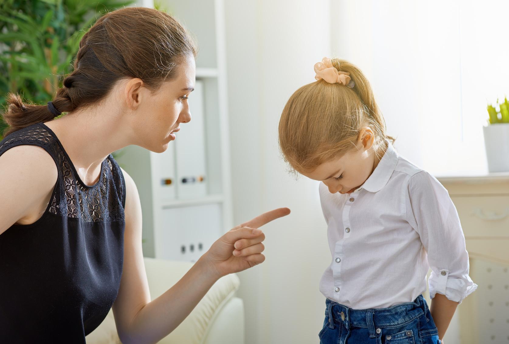 La punition: quel effet psychologique sur les petits ?